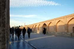 Strolling on Si-o-Seh Bridge