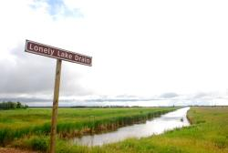 Lonely Lake Drain - a good name for this remote area