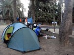 Camping about 50km outside Barcelona