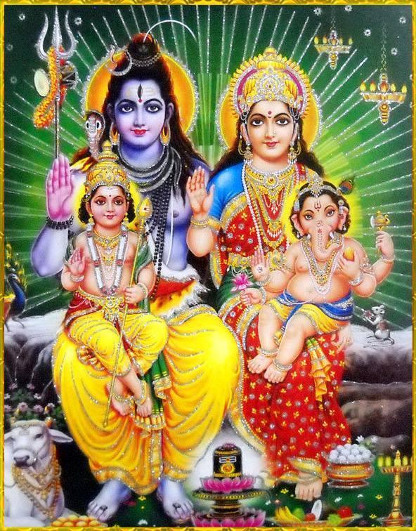 Lord Vishnu 3d Live Wallpaper Download Shiv Parivar Wallpaper Free Download Gallery