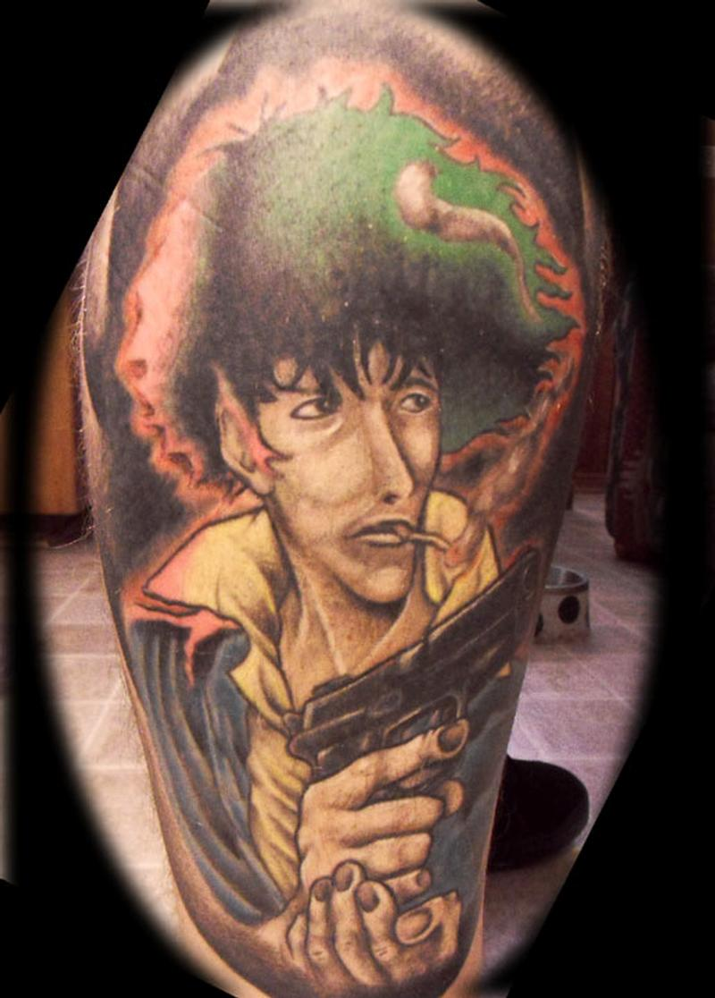 Spiegel Tattoo Outlaw Tattoo Tattoos Movie Cowboy Bebop