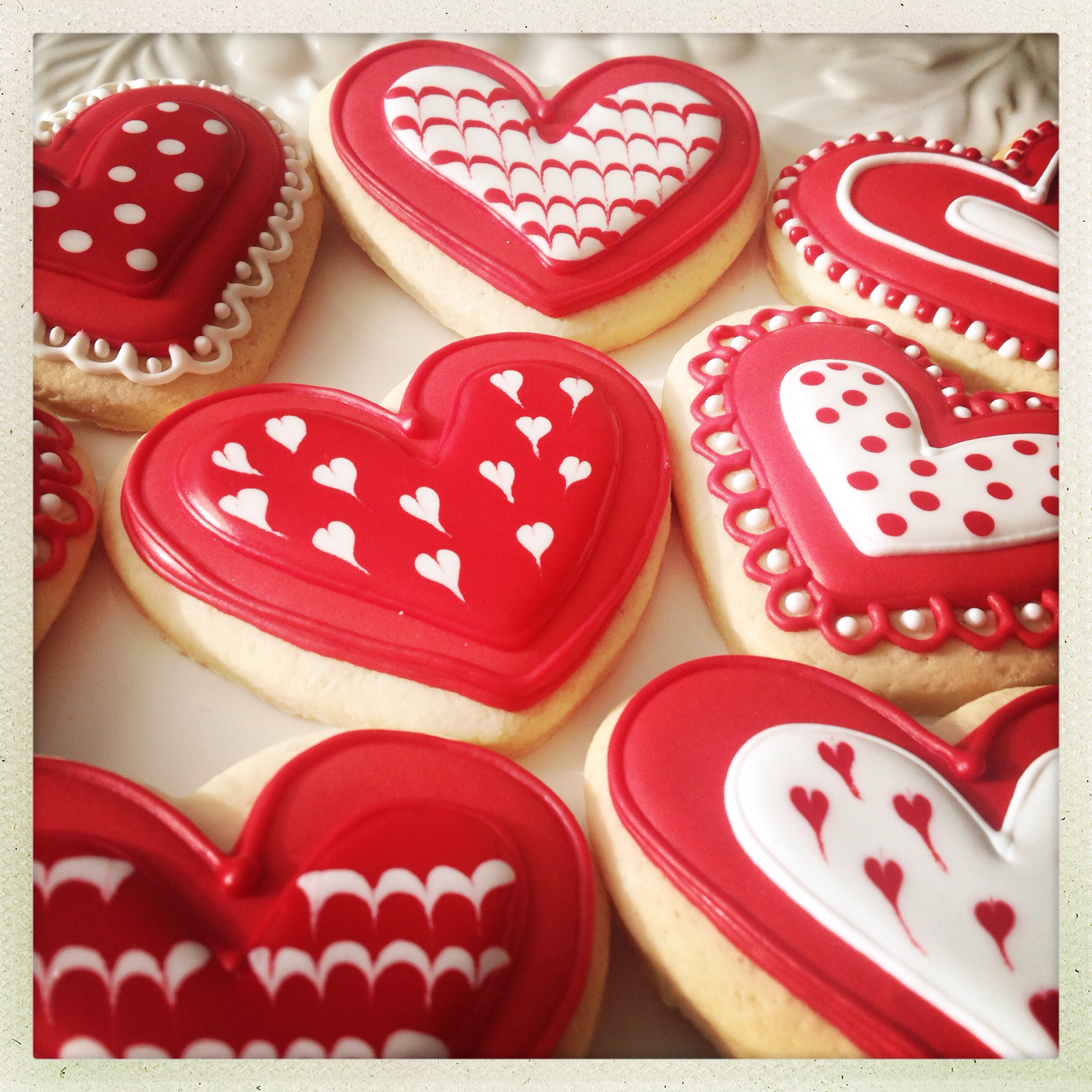 Como Decorar Galletas De Corazon Corazones Galleteras