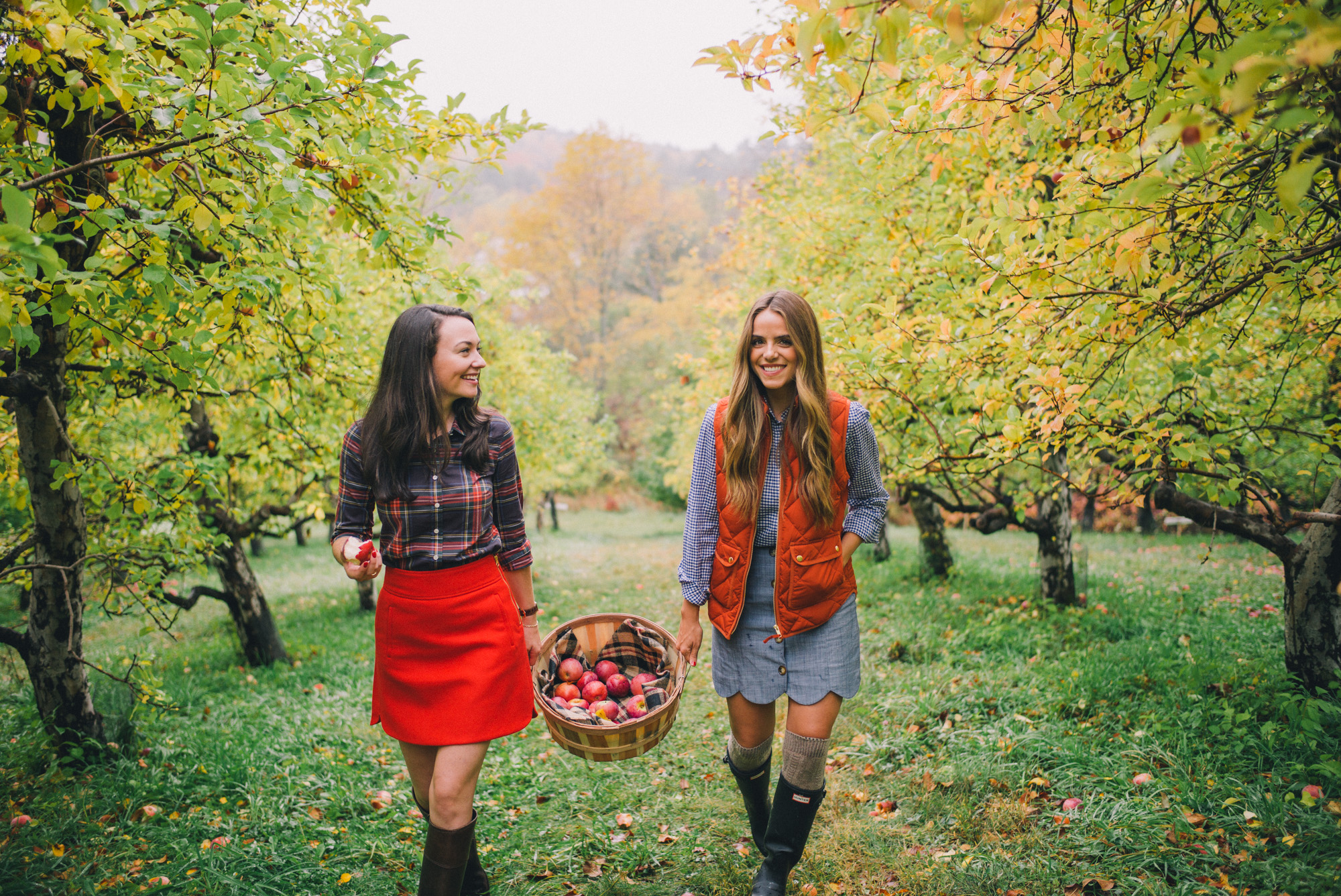 Apple Picking In Vermont Gal Meets Glam