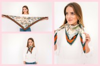8 Ways To Wear A Scarf - Gal Meets Glam
