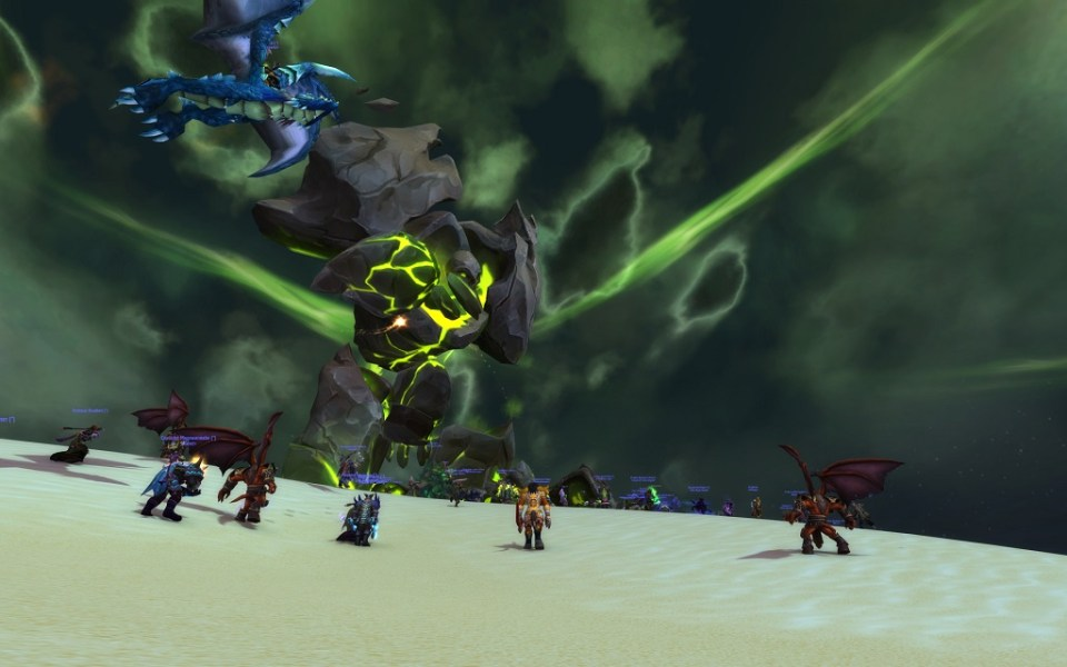 Legion invasion of Tanaris