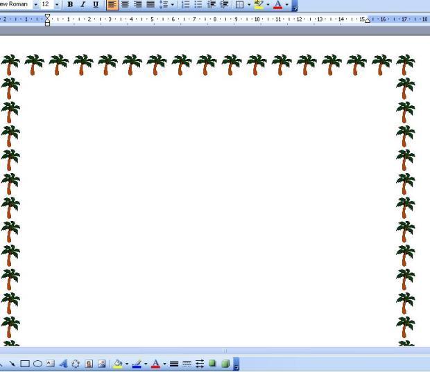 cara membuat bingkai halaman pada microsoft word border