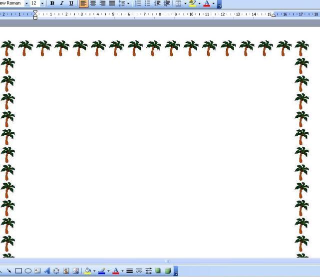 cara membuat bingkai halaman pada microsoft word - Belajar komputer Mu