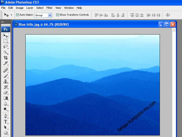 Cara mengecilkan memperbesar resolusi gambar adobe photoshop