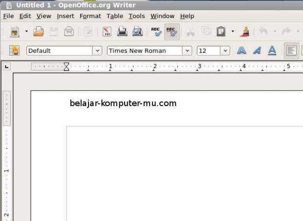 mengenal aplikasi open office