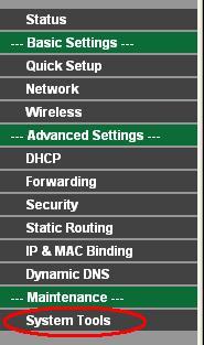 Cara mengganti password pada AP router -  Wireless Router hotspot TP-Link