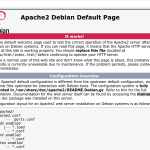 Install LAMP Server on Debian 9
