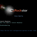 Rockstor 3.9.1 Installation Tutorial