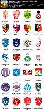 France Football Club Logos