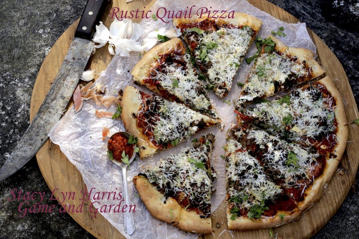 Rustic Quail Pizza