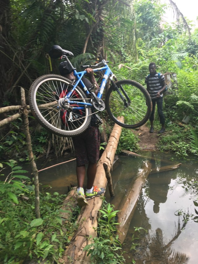 """Adventures on a single track, or as one of the locals asked, """"you went riding on a footpath?"""""""