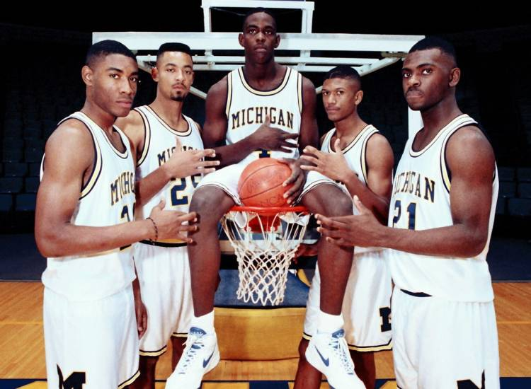 michigan wolverines fab five 5