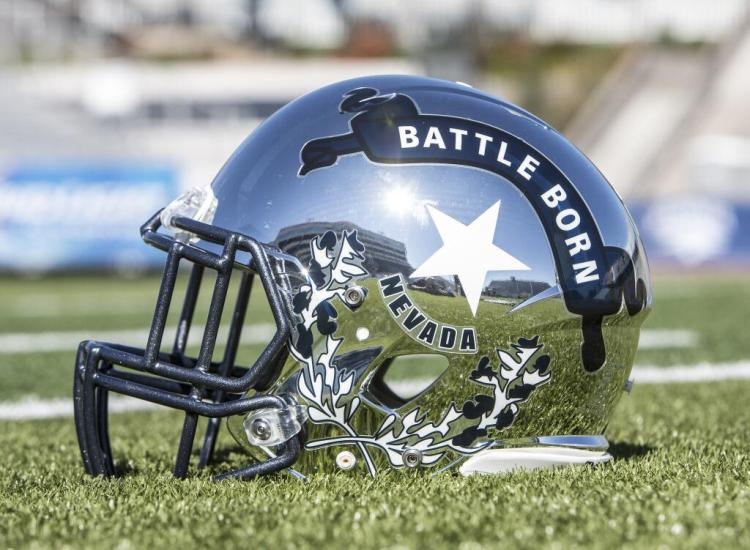 nevada wolf pack silver battle born helmets 4