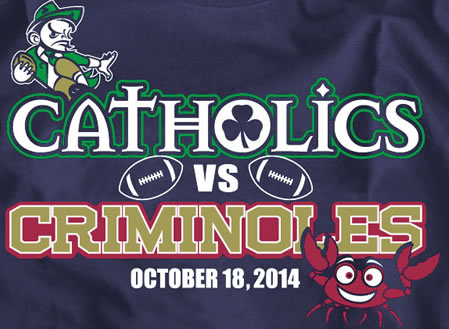 catholics criminoles shirt