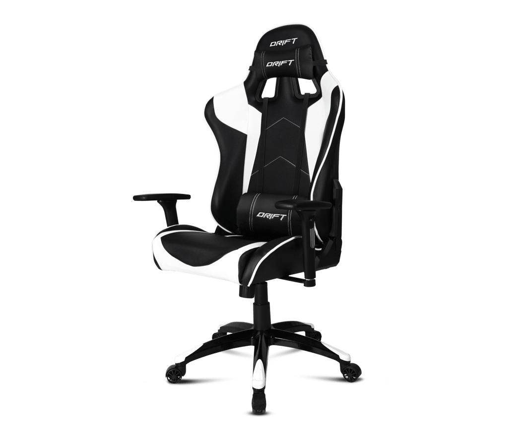 Silla Gaming Nacon Pcch 300 Opiniones Drift Gaming Chair Dr300 Black White Gamegear Be