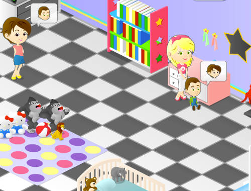 Frenzy Babysitter Game - Play online for free KibaGames