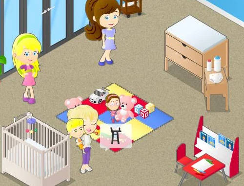 Frenzy Babysitter 2 Game - Play online for free KibaGames