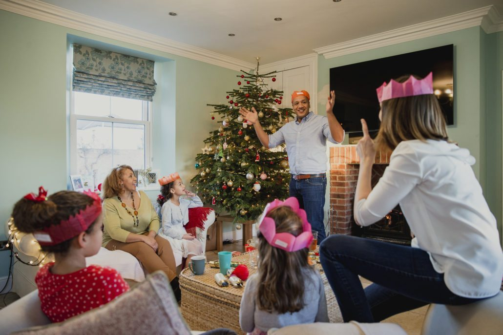 How to Play Christmas Charades free printable games! Game On Family