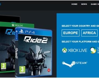 Ride 2 ¡Las motos más rápidas y emblemáticas en el mayor garaje digital del mundo!