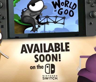 World of Goo, Little Inferno y Human Resource Machine llegaran para Nintendo Switch
