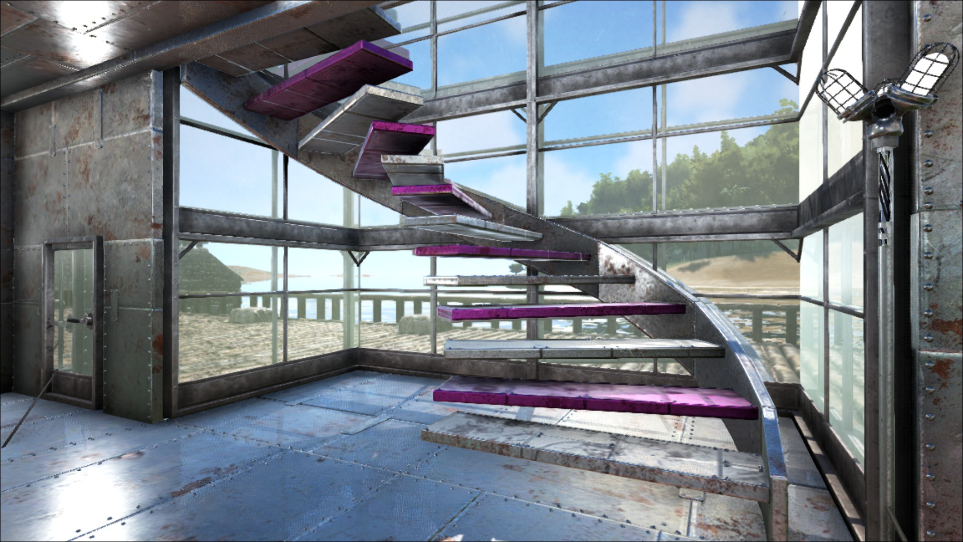 Ark Holzgeländer Cheat Metal Staircase Official Ark Survival Evolved Wiki