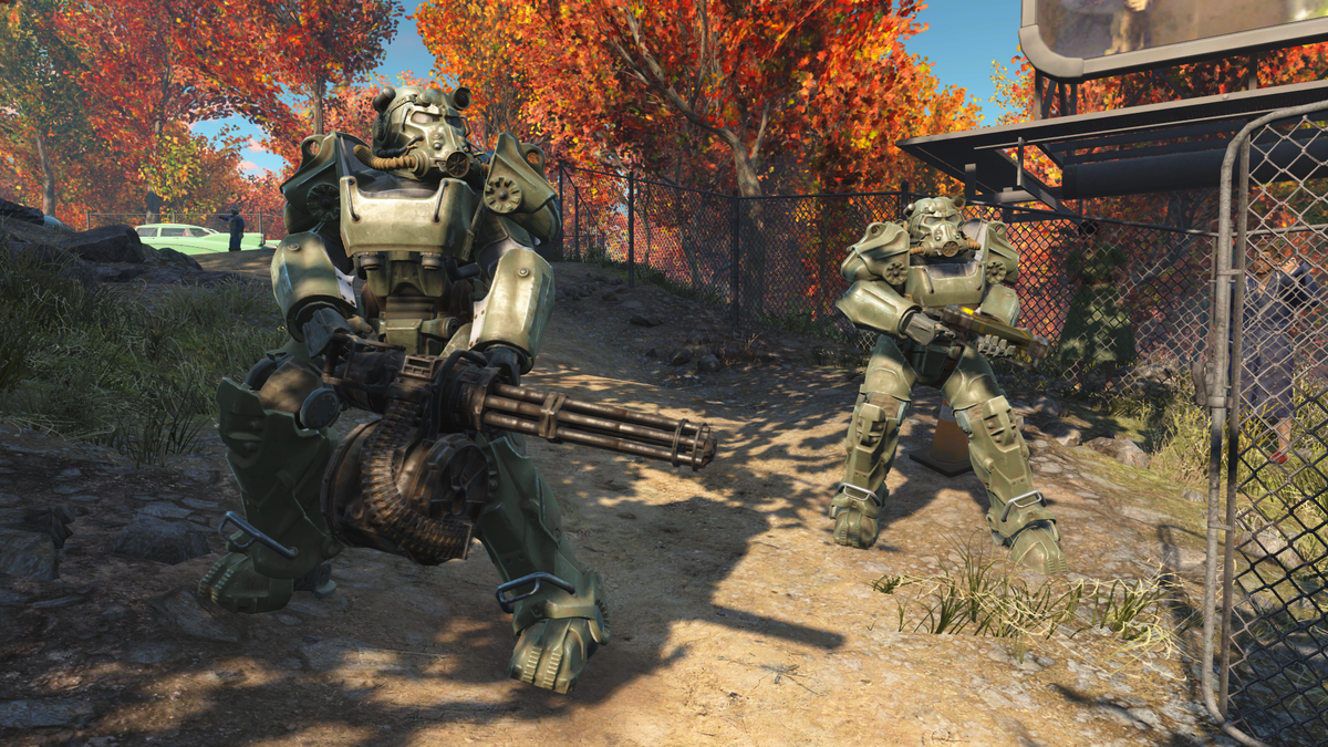 Fall In Boston Wallpaper T 60 Power Armor Fallout 4 The Vault Fallout Wiki