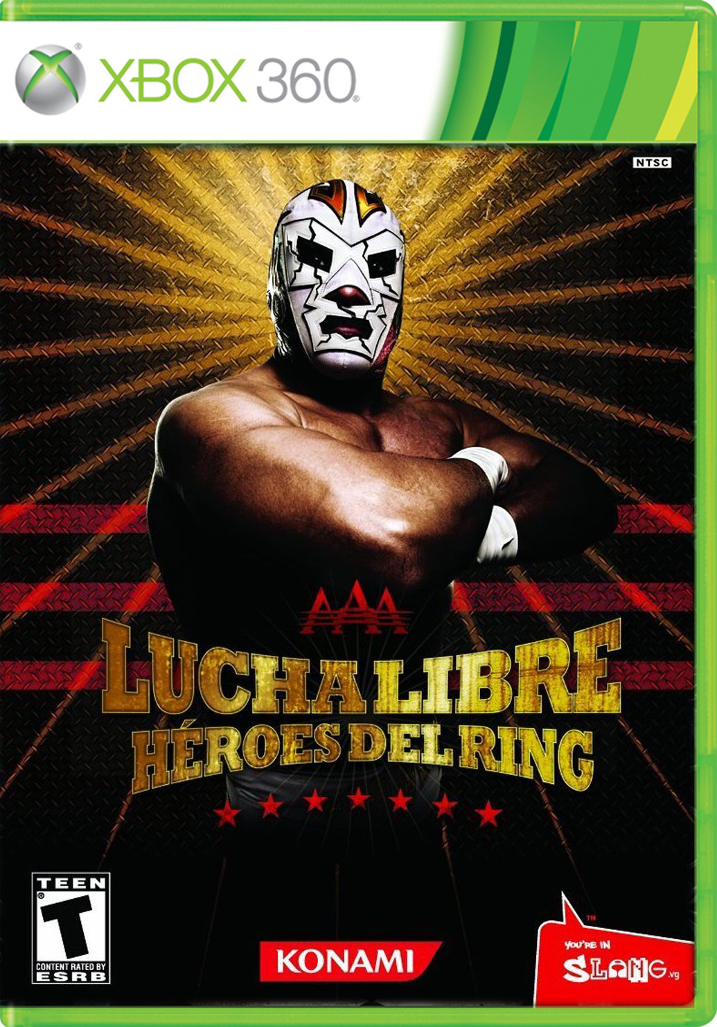 Lucha Libre Juego Online Aaa Lucha Libre Heroes Del Ring Para 360 Gameplanet