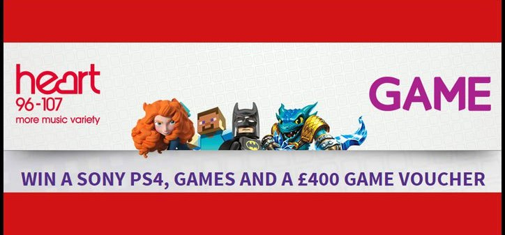 Win PS4 competition