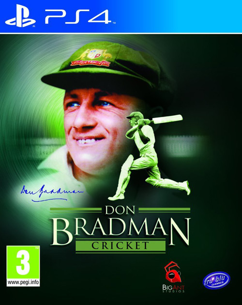 Don Bradman Cricket PS4 Cover