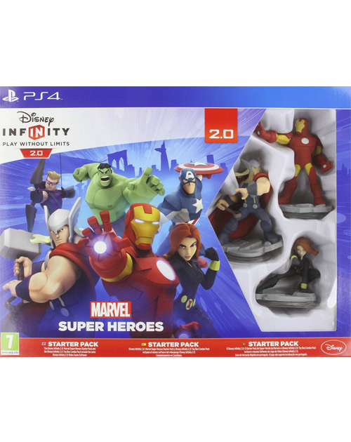 Disney Infinity: Marvel Super Heroes - 2.0 Edition PS4 Cover