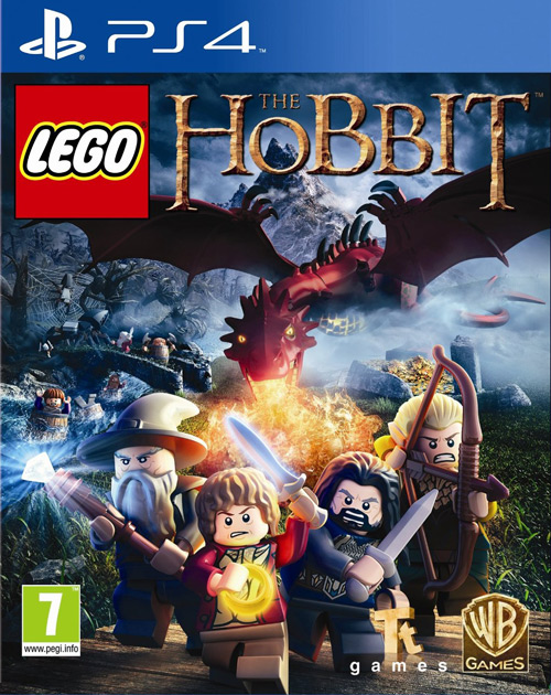 LEGO The Hobbit PS4 Cover