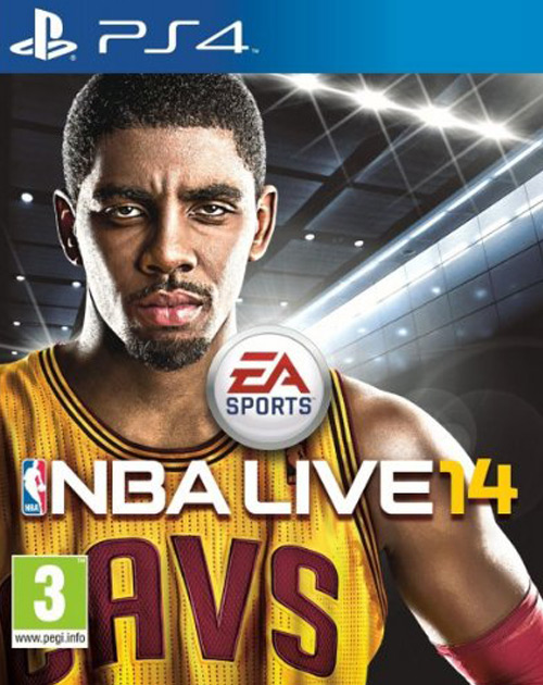 NBA Live 15 PS4 Cover