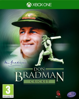 Don Bradman Cricket 14 XBOX One Cover
