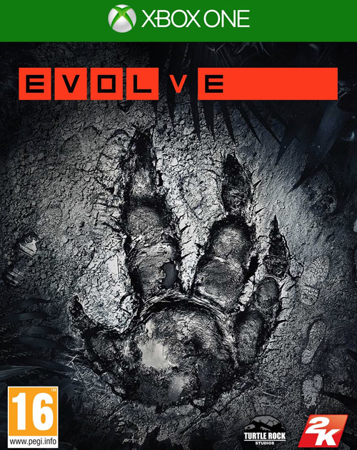 Evolve XBOX One Cover