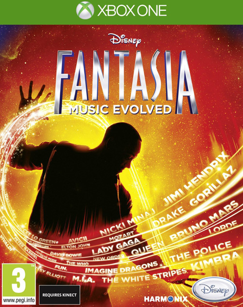 Fantasia: Music Evolved  XBOX One Cover