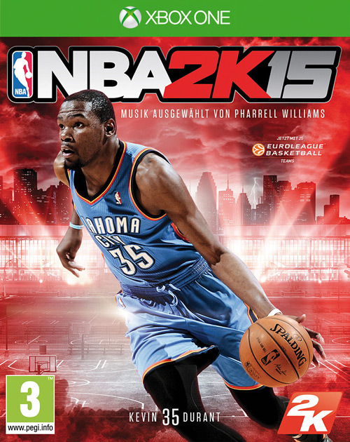 NBA 2K15 XBOX One Cover