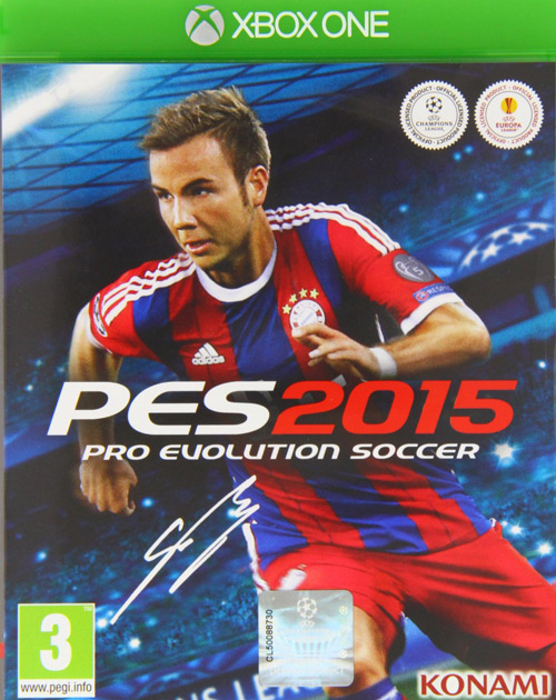 Pro Evolution Soccer 2015 XBOX One Cover