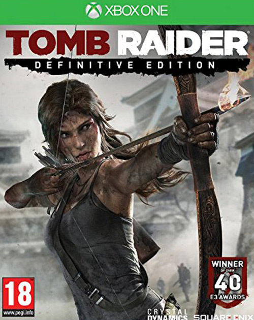 Tomb Raider: Definitive Edition XBOX One Cover