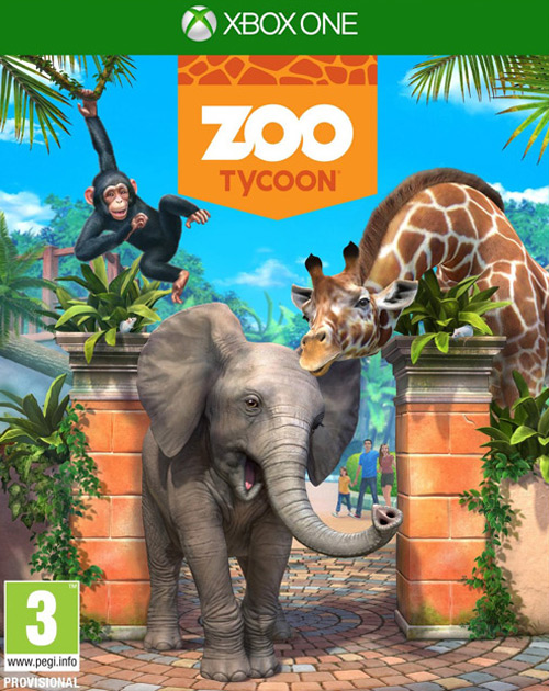 Zoo Tycoon XBOX One Cover
