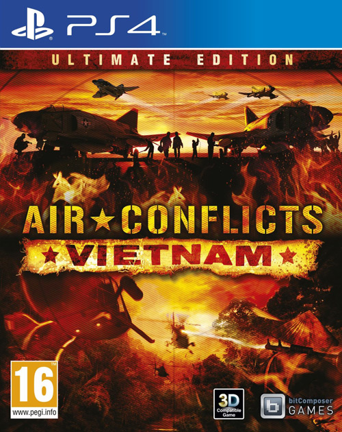 Air Conflicts: Vietnam - Ultimate Edition PS4 Cover