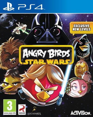 Angry Birds Star Wars PS4 Cover