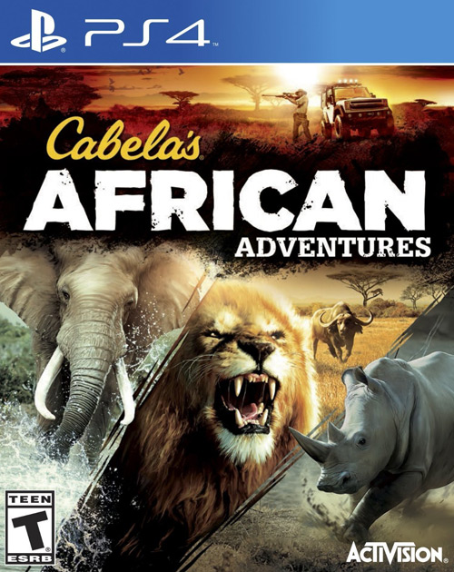 Cabela's African Adventures PS4 Cover