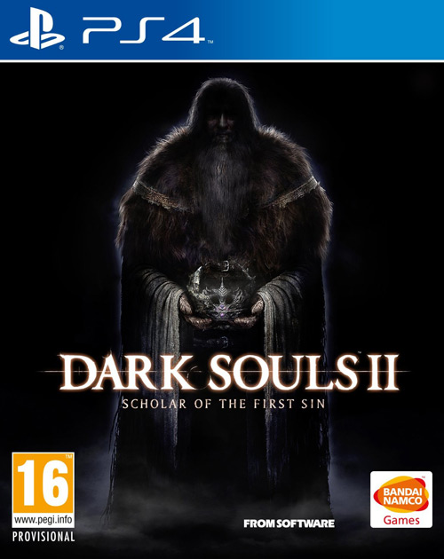 Dark Souls II: Scholar of the First Sin PS4 Cover