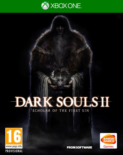 Dark Souls II: Scholar of the First Sin XBOX One Cover