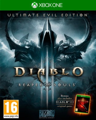 Diablo III: Reaper of Souls - Ultimate Evil Edition XBOX One Cover