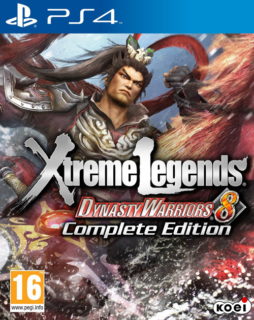 Dynasty Warriors 8: Xtreme Legends - Complete Edition PS4 Cover